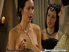 Excellent lesbo slave torment