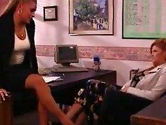 lesbian office part1