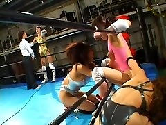Cat Fight Anal Invasion Pro Wrestling