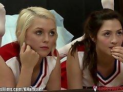 GirlfriendsFilms Teen Cheerleaders Slurp Vag