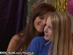GirlfriendsFilms Syren De Mer Seduces Shy Nubile