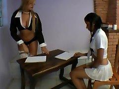 Girl-on-girl Pee Domination 2