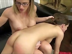 Femdom Lesbo Domination And Smacking
