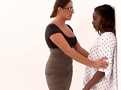 Dominant MILF seduces her adorable teen patient