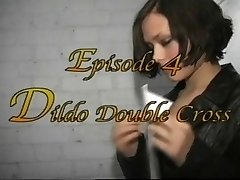 British Domina Demonica in lesbian bondage session