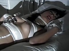 Purple Haired Gothic Asian Puts On One Super-naughty Fetish Flash