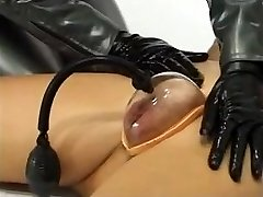 Two Female Mistresses With Slave Doll