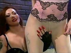 Smoking fetish lingerie broads doing it