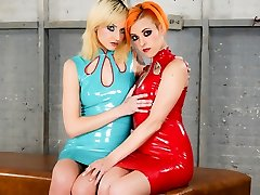Phoenix Askani & Chelsea Polishes in Phoenix Askani and Chelsea Polishes - A Latex Wish Scene