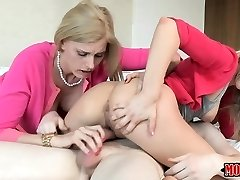 Darryl Hanah and Shyla Jameson ffm 3 way sesh