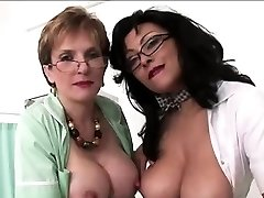 Mature british nurses get jizz