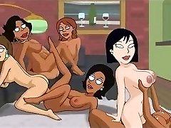 Family Dude Hentai - Backyard lesbians