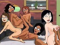 Family Guy Porno - Backyard lesbos