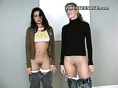 lesbian legal age teenagers first video casting