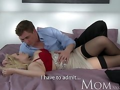 MOM Blonde dating single MOM just wants to feel a ample dick inwards