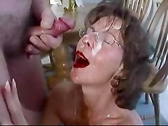 Mature black-haired in glasses cherish. Fran from 1fuckdate.com