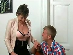 junior man banged hot gilf