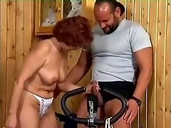 Granny in a Gym R20