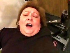 BBW GRANDMA FUCKED IN THE GYM
