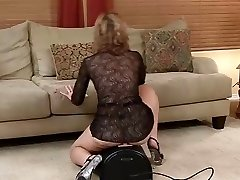 Super Hot Mature Rides Sybian Saddle... IT4REBORN