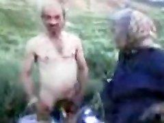 Granddad and Grannie Outdoor
