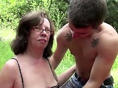 Mom get seduce to fuck german Step-Son xxx in public