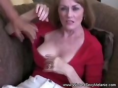 Unrighteous Threesome For Unexperienced GILF Melanie