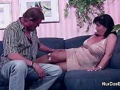 German Mom and Parent in Porn Casting for less Currency