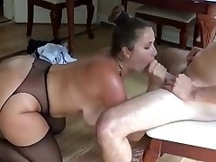 boning step mother at