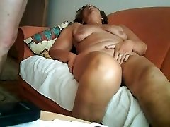 Good-sized orgasm of a 64yo granny