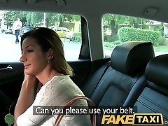 FakeTaxi Smokin hot Romanian makes my cock view good