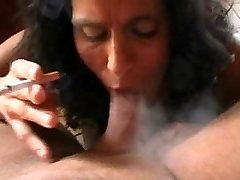 Italian Mother Smoking Fetish