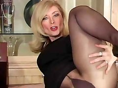 Mature nina hartley in stocking as never seen part Four thenylonchannel