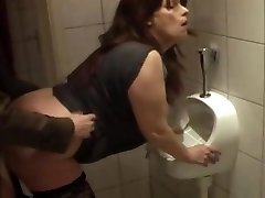 slut fuckin'  kathy in my local pub lavatory