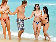 Charlee Pursue & Holly Halston & Sara Jay & Levi Cash in Tempted by a Cougar