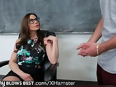 MommyBlowsBest Teacher MOTHER I'D LIKE TO FUCK Wishes Younger COCK!