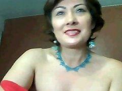 mother has a webcam