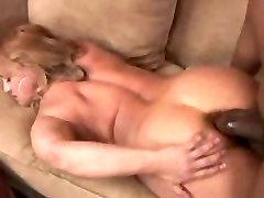 Chubby mature Wife gets her first xxl black cock in her tight asshole...F70