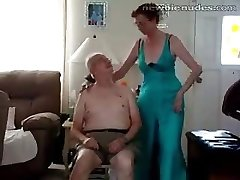 Aged granny stripts