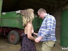 MMV FILMS German Fledgling Mature Farmers