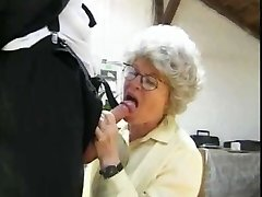 Grannie Fucking 2 Dudes by snahbrandy