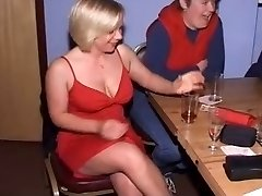 Brit Femmes at CFNM Stripper Party-Part1