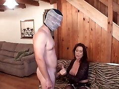Mummy punishes son for getting off
