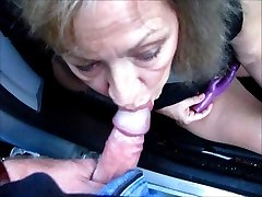 Pretty Mature Wife Bj's Cock Thru Car Window