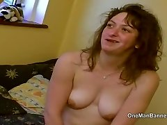 Gross council estate slut willing to do rectal on camera