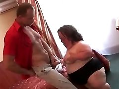 Ugly Mature PLUMPER Midget Sucks Boinks and Facialed