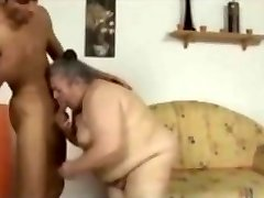 Good-sized ugly 75 year elderly slut