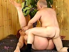 Kira Red with midget (Fine video)