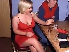 Brit Ladies at CFNM Stripper Party-Part1