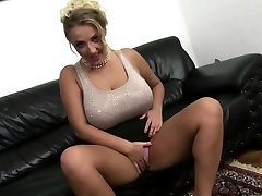 Big breasted mother pokes in POV style